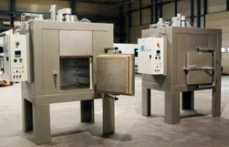 Electric industrial ovens, all made to measure