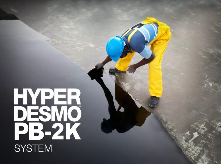 is a fast-curing, two-component, bitumen-extended polyurethane fluid for waterproofing and protection