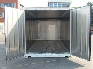 20′ Reefer Container x 8′ x 8'6″ (full corten steel)