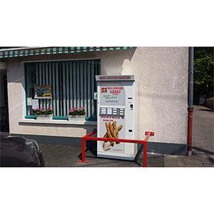 distributeur automatique de baguettes de pain.