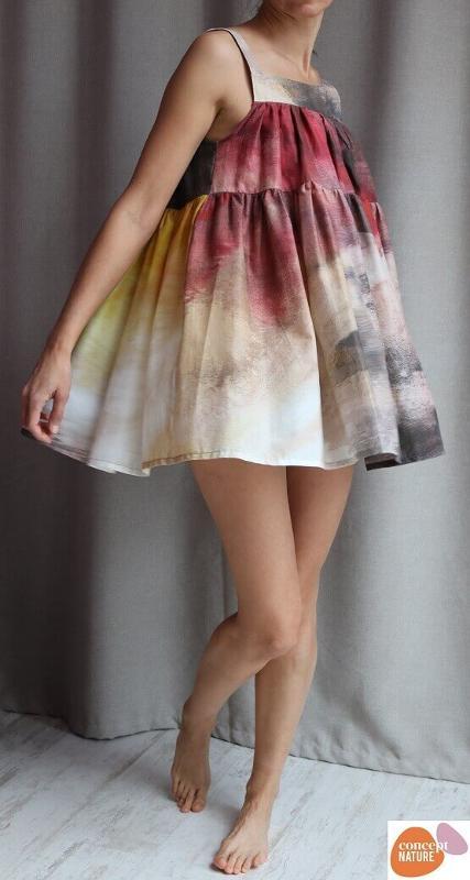 Dress - Egyptian Cotton printed