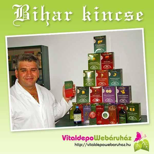 Bihar Kincse gyógynövényeket tartalmazó teakeverékek.