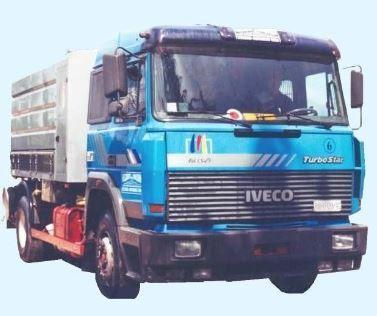 Disponiamo di camion autospurgo canal jet di varie dimensioni  in grado di aspirazione rifiuti liqudi o fangosi e pulire condotte con acqua ad alta pressione
