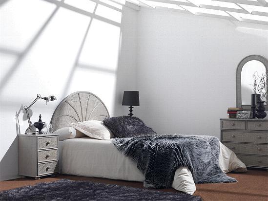 Rattan Bedroom ref. 560