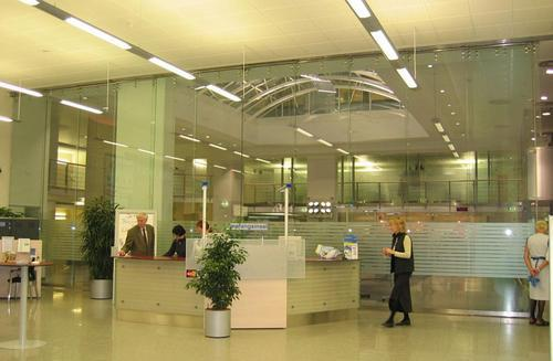 glass partition systems