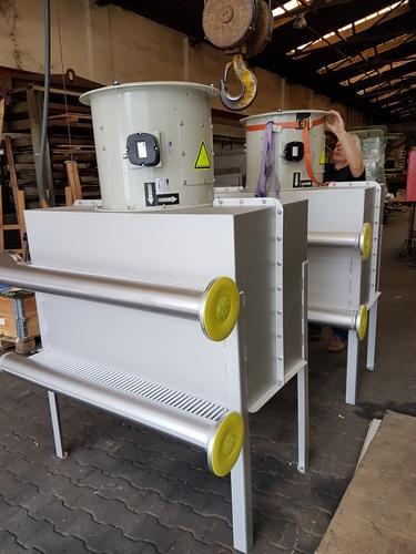 Biogaskühler in Ex-Ausführung
