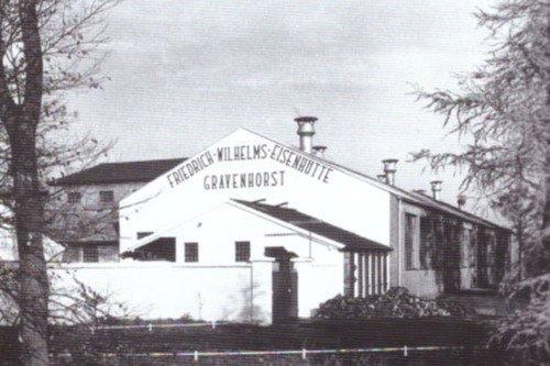 Die Eisenhütte nach dem Wiederaufbau
