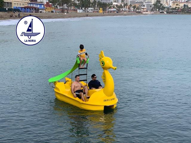 new great seahorse pedal boat