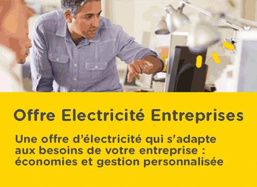 Une offre d'électricité qui s'adapte aux besoins de votre entreprise : économies et gestion personnalisée