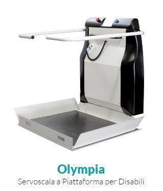 Olympia - Servoscala Disabili