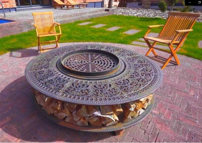 We make fire bowls, barbecues, hearth from cast iron