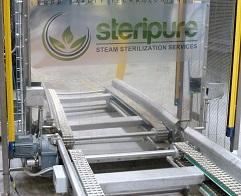 La technologie utilisée par Steripure permet de débactériser des fruits secs, épices nécessitant un traitement contre les bactéries. Très efficace, elle fait appel à l'injection de vapeur sous vide.