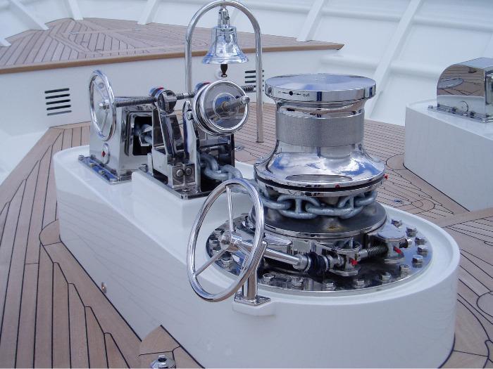 Ankerinsel Yacht