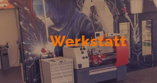 Werkstatt mit modernster Technik
