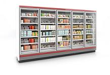 Dione cabinets offer you 2, 3, 4 or 5 doors options where you may display your drinks and beverages.