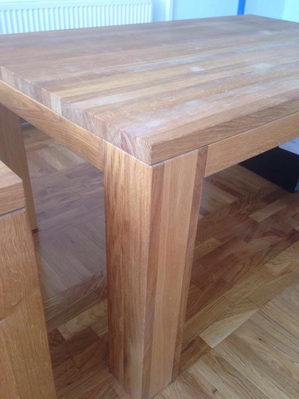 "Massive wooden table made from ""famous"" Croatian oak and beech...  Price is depending on the dimensions of the table"