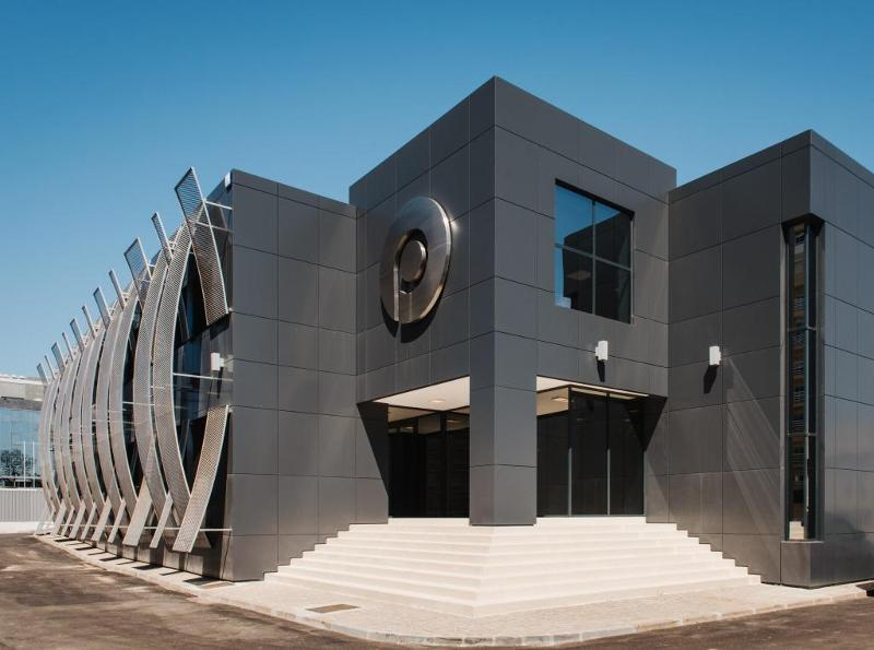 Manufacturing Building - Facade