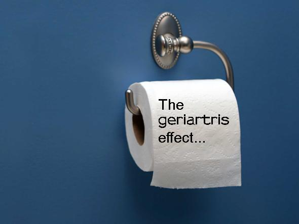 geriartris, the main effect....