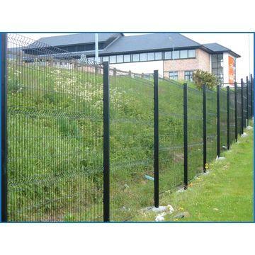clôture  grillage rigides