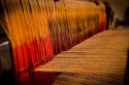 Traditional Handloom Weaving Method