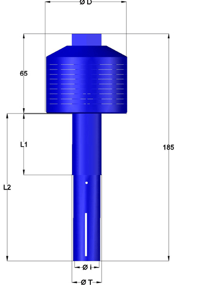 Filter nozzles with Horizontal Screens