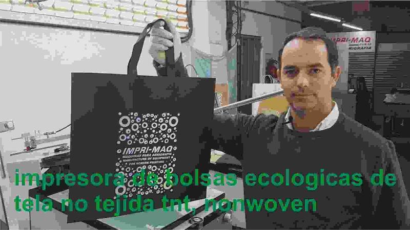 impresora de bolsas ecológicas re utilizables friselina