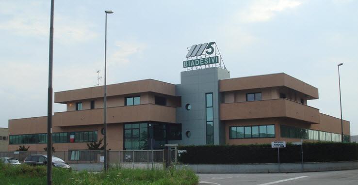 Sede, stabilimento e magazzino di Siziano,  Milano Sud.