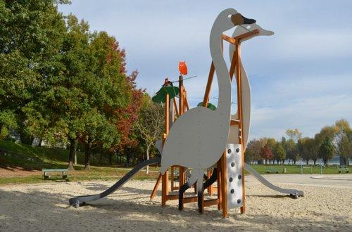 Kranich Spielplatz