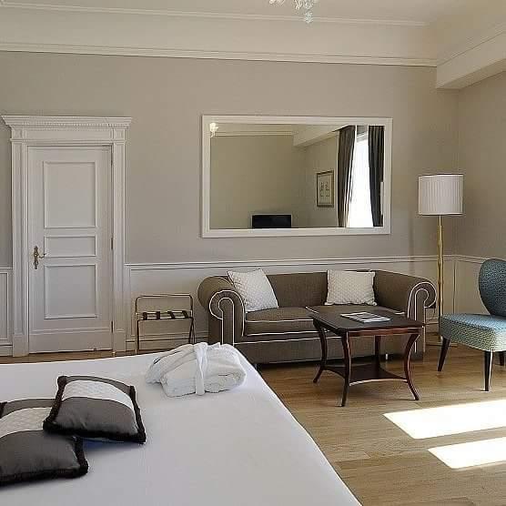 Interior design (Hotel Santa Lucia)