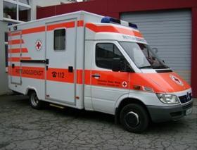 Für den Transport von gefährdeten Patienten