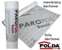 Roof membrane PAROFOL basic 100g/m2 - 1,5m x 50m