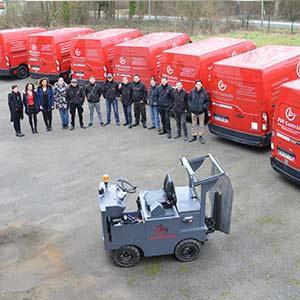 Les techniciens FVP Contrôle sont formés et équipés pour assurer les vérifications générales périodiques de chariots élévateurs conformément aux dispositions de l'article R4323-23