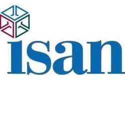 Logotipo de Isan mensajeros.