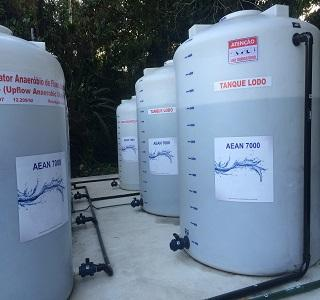 Compact wastewater treatment system designed for smaller communities and industries