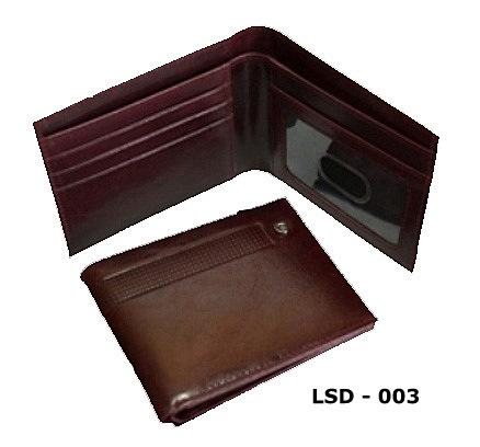 Hand Made Genuine Washed Leather Men Wallet