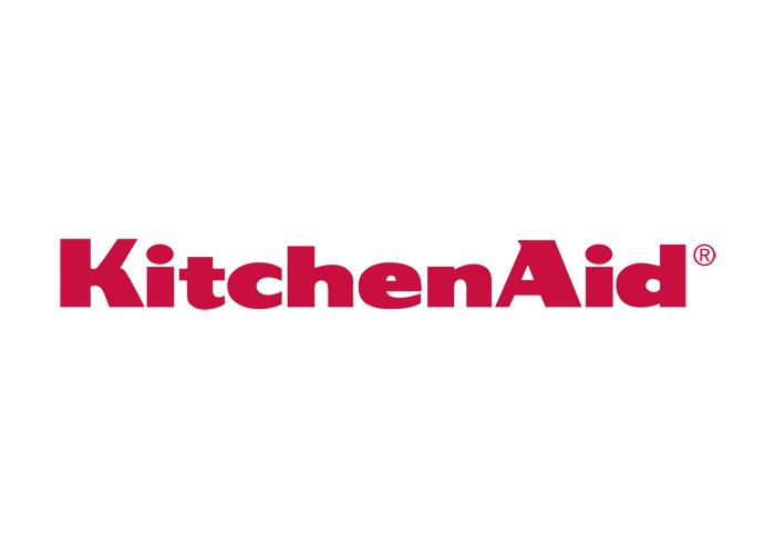 kitchenAid Home appliances Logo. high end brand sold in JLM diffusion, the  biggest retailer in France for kitchenAid Built'in home aplliances .