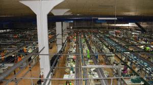 Unidade de Confecção para 400 casacos/dia e 500 calças/dia