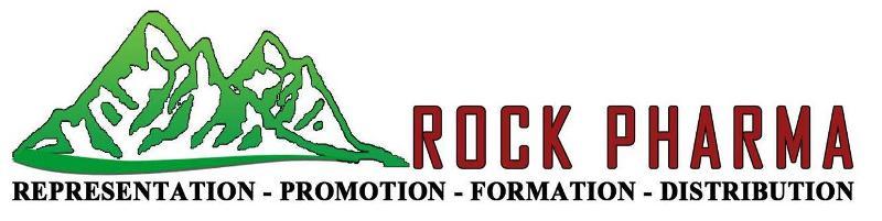 Identification visuelle et graphique de ROCK PHARMA et des services que nous pourvoyons...