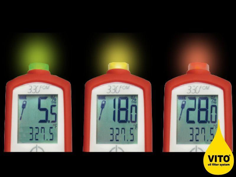 Misuratore digitale della qualità dell'olio