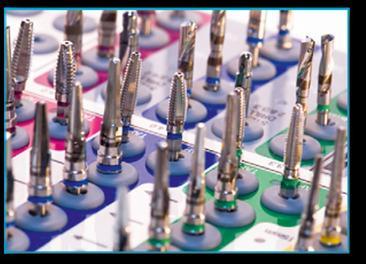 Siamo in grado di offrire una vasta gamma di utensili per gli impianti di odontoiatria per soddisfare le più svariate necessità e in conformità con la richiesta del cliente.