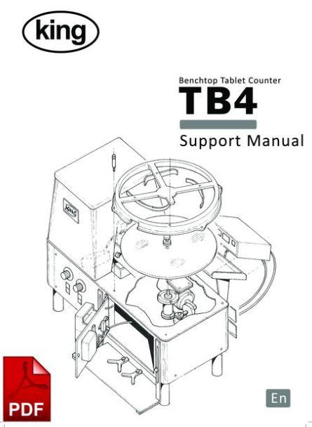 Instruction and Servicing Manuals for C E King Packaging Machinery