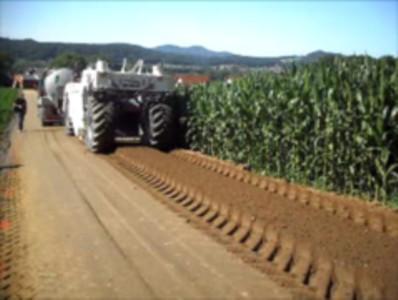 "Alphasoil®-06 ""Mix in Place"" Road Construction"