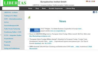More informations about Libertas on www.libertas-institut.com and European EWIV-EEIG Information Centre www.ewiv.eu.