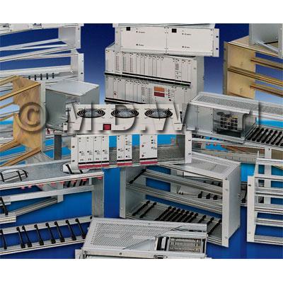 """Studio e realizzazione contenitori sub rack e sub-units per elettronica, alluminio, PVC, plexiglass, acciaio. Telai open frame e rack 19"""", consolle, quadri a leggio, cassette elettriche"""