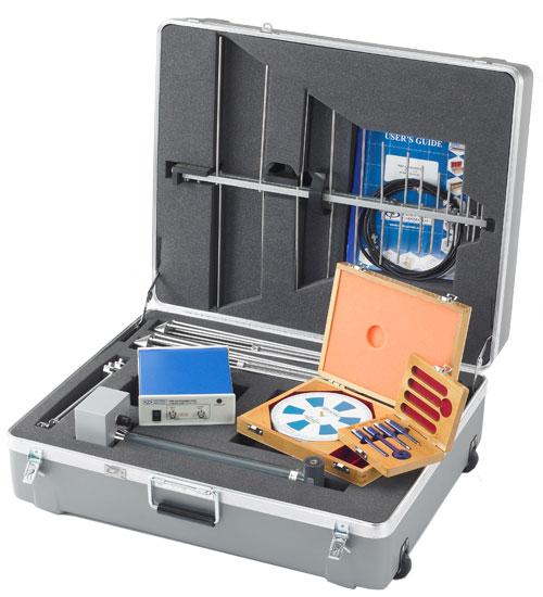 Portable Antenna Kit for in-house and off-site EMC testing.