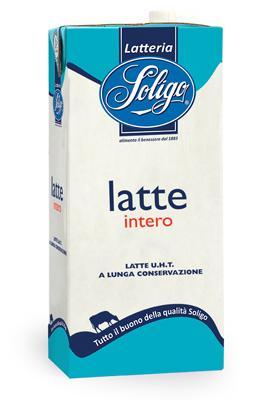 nelle diverse tipologie: intero, parzialmente scremato e scremato è ottenuto presso la Centrale del latte di Caposile (VE).