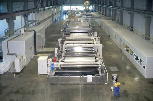 4.2 m line for BOPP film. Capacity per year - about 6 000 tons