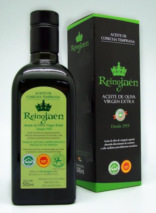 AOVE Premium Cosecha Temprana Reino de Jaén