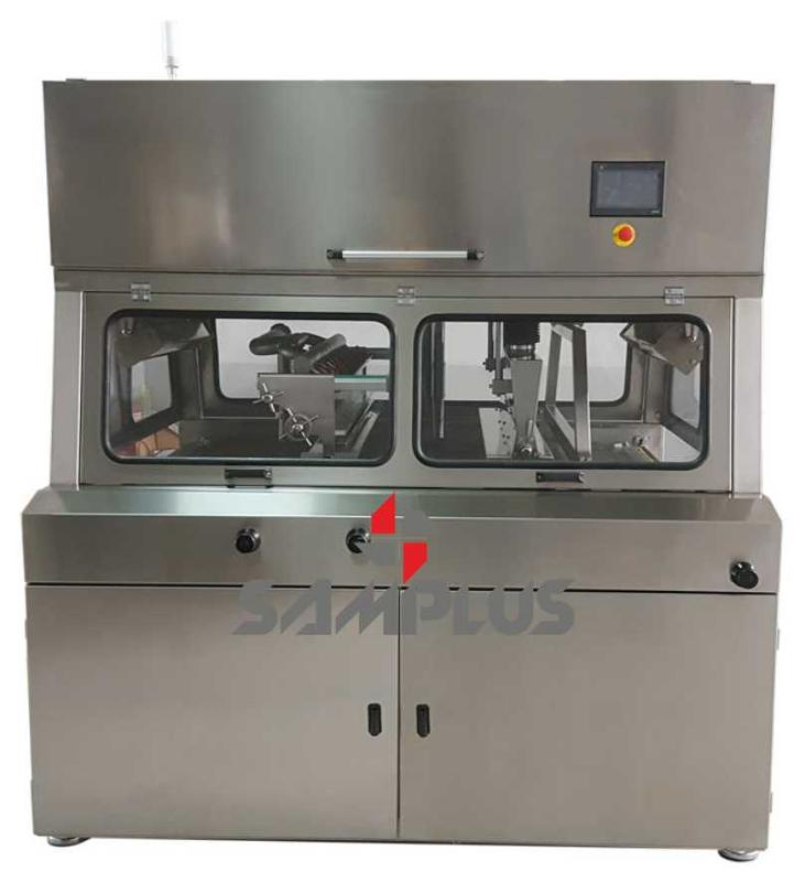 First quality chocolate enrobers with best prices. Samplus Machinery Please contact with us for more information.