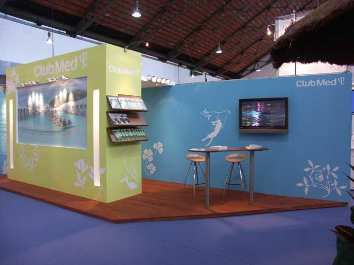 Stands d'exposition - Club Med